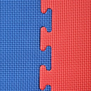 JIGSAW MATS 20mm for Martial Arts, Premium Quality, High Density Red/Blue for Fitness and Exercise