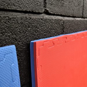 JIGSAW MATS 20mm Premium Quality, for Martial Arts, High Density Red/Blue for Fitness and Exercise