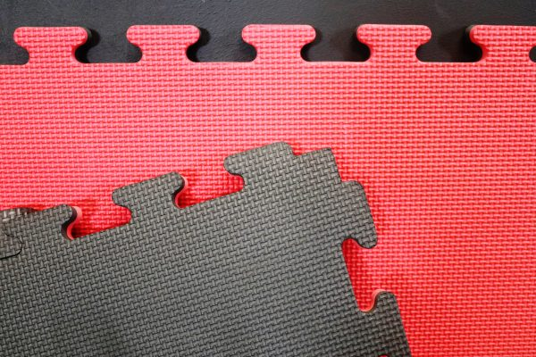 Jigsaw Mats 20mm red/black